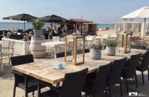 Strandrestaurants Zandvoort und Bloemendaal aan Zee