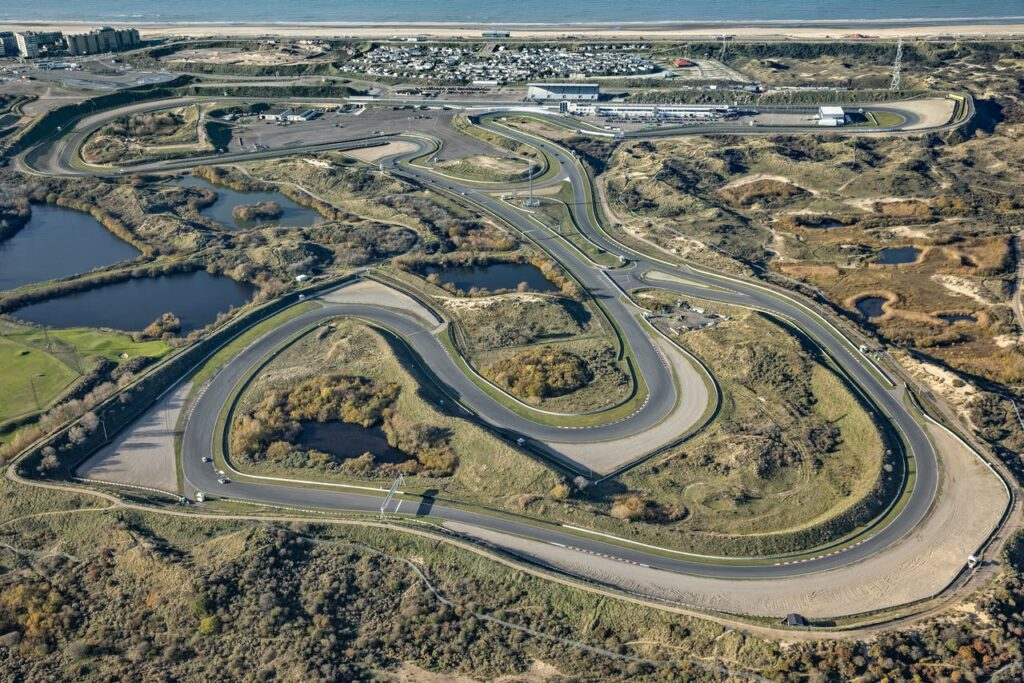 Formel 1 Renstrecke Zandvoort