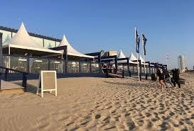 Öffnungszeiten der Strandrestaurants zum Saisonende
